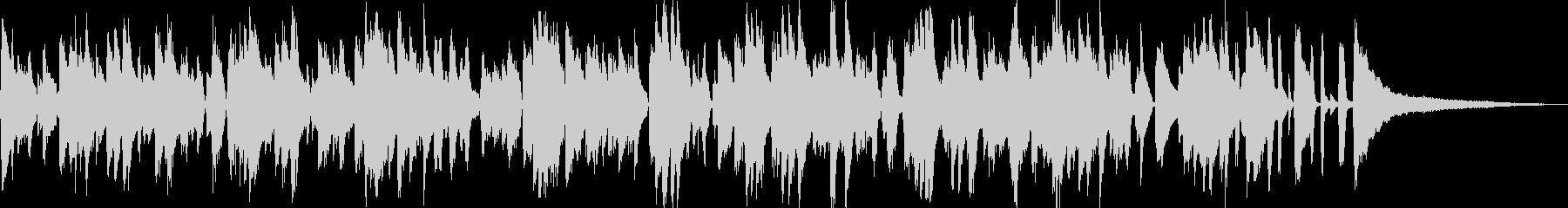 爽やか系ラウンジ風ボサノバ/ピアノトリオの未再生の波形