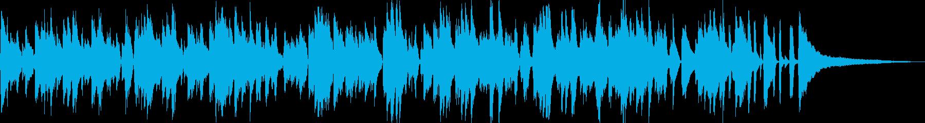 爽やか系ラウンジ風ボサノバ/ピアノトリオの再生済みの波形