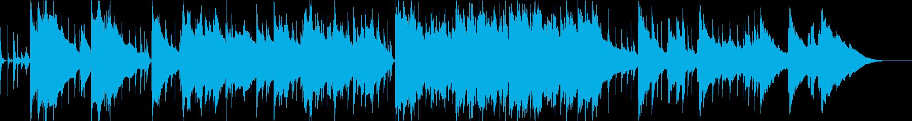 青空をイメージした爽やかなポップスの再生済みの波形
