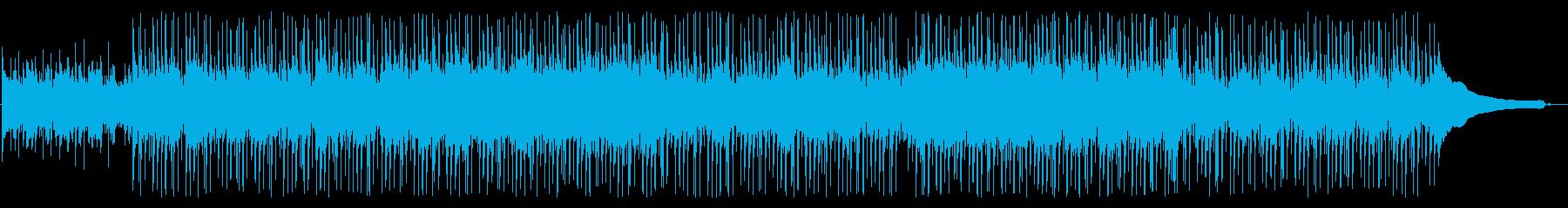 のどかでキラキラしたアコギの再生済みの波形
