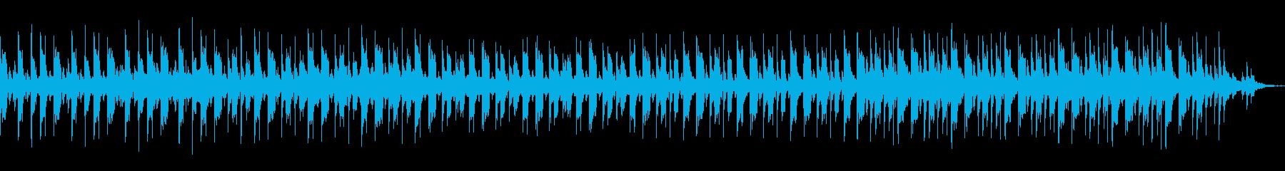 ピグミー音楽(アフリカ)からのインスパイの再生済みの波形