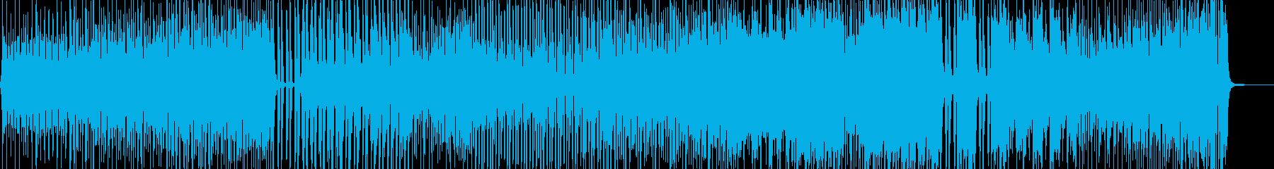 七変化アニメーションダンス調ポップ A2の再生済みの波形