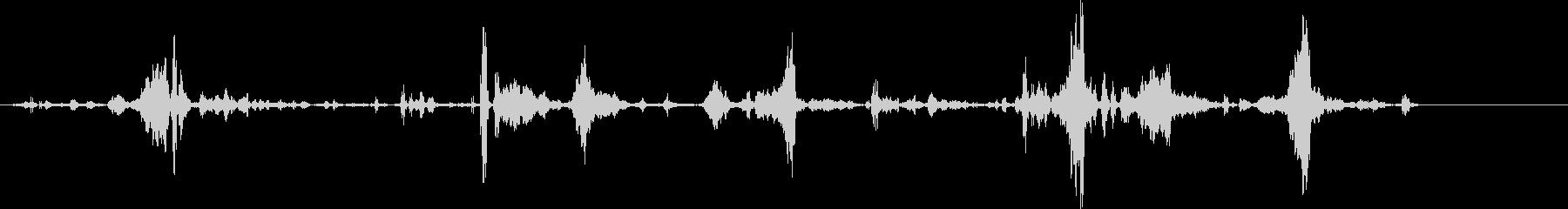 ストレンジトーキング;フェリー式の...の未再生の波形