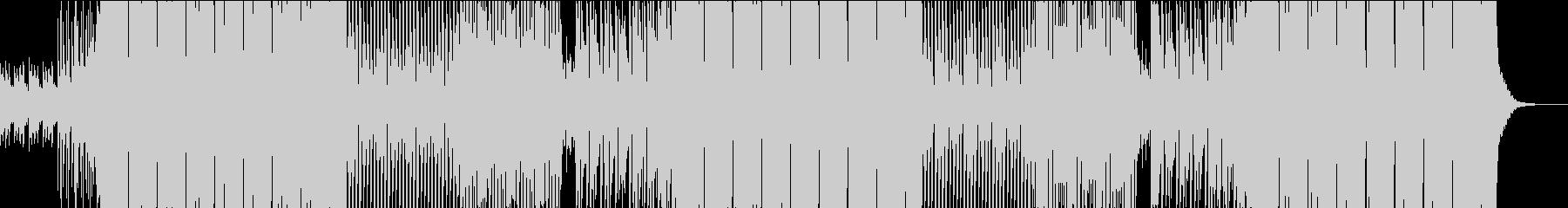 フロアが揺れ盛り上がるクラブ系EDMの未再生の波形