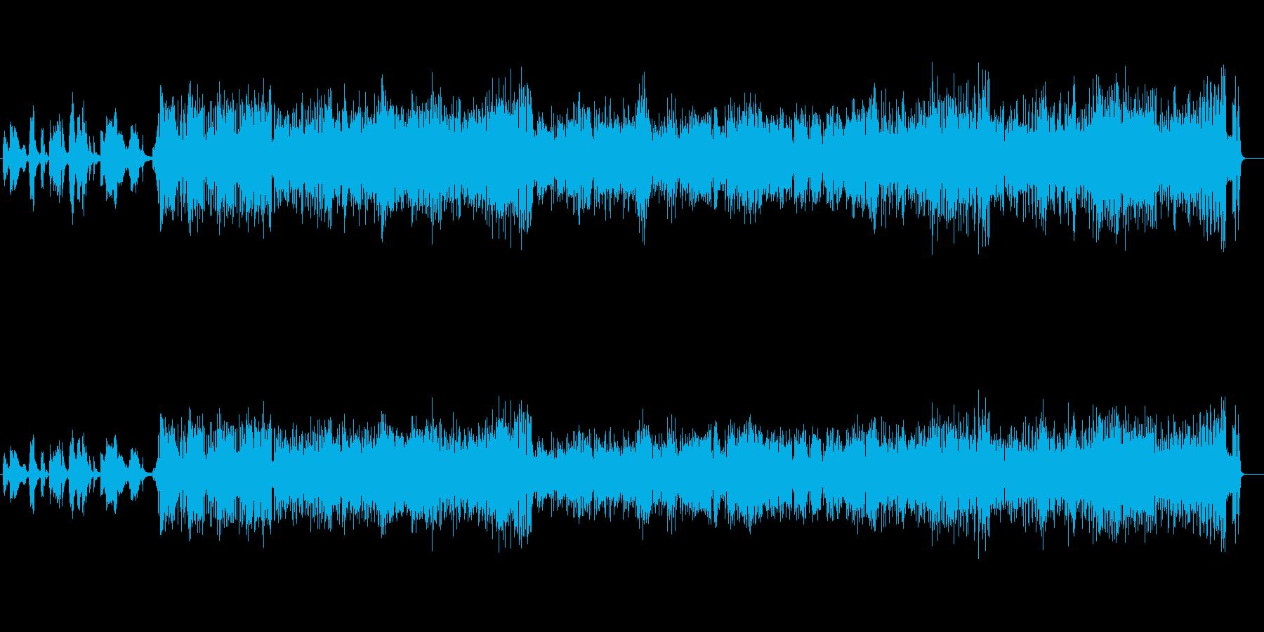 楽しくてわくわくするビッグバンドジャズの再生済みの波形