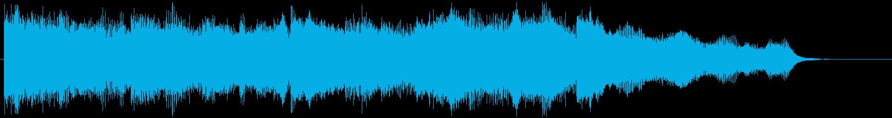 VP・CM 癒やし系ピアノとストリングスの再生済みの波形