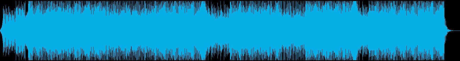 モチベーショナル BGM の再生済みの波形
