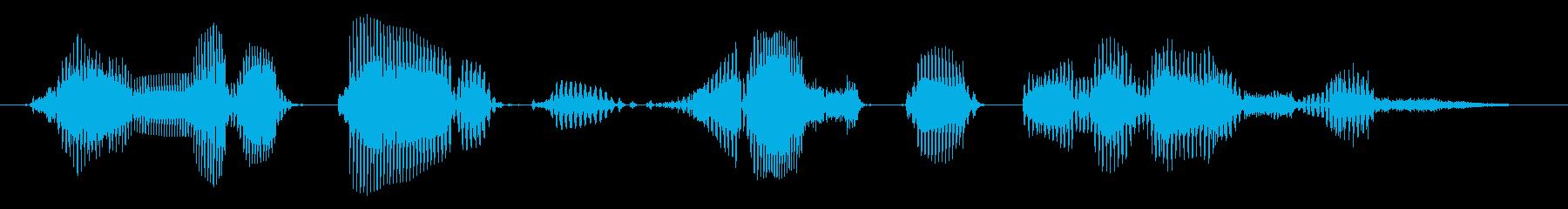 チャンネル登録よろしくお願いします 02の再生済みの波形