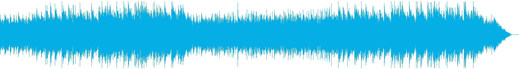 お洒落で癒されるエレクトロニカの再生済みの波形