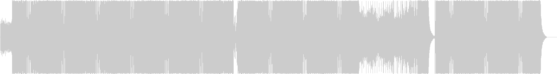 Dramatic and exciting EDM's unreproduced waveform