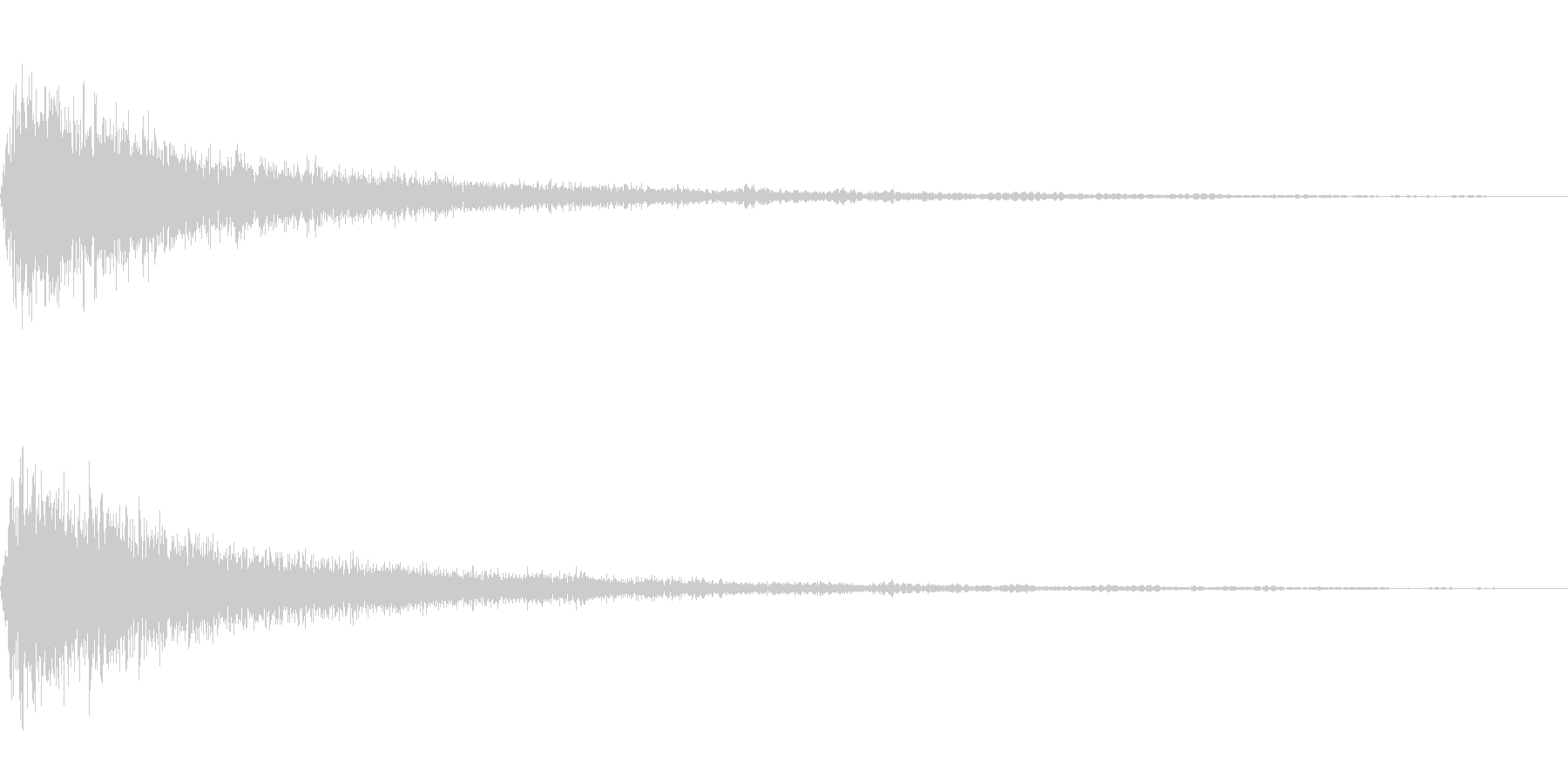 シャーン_ヒューン(飛び込み)の未再生の波形
