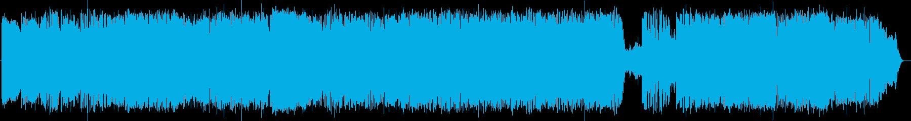 英語洋楽:ヘヴィなギター&切なくソリッドの再生済みの波形