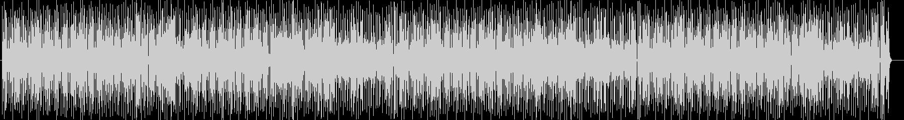 コミカルなシンセ・ゲーム音などのサウンドの未再生の波形