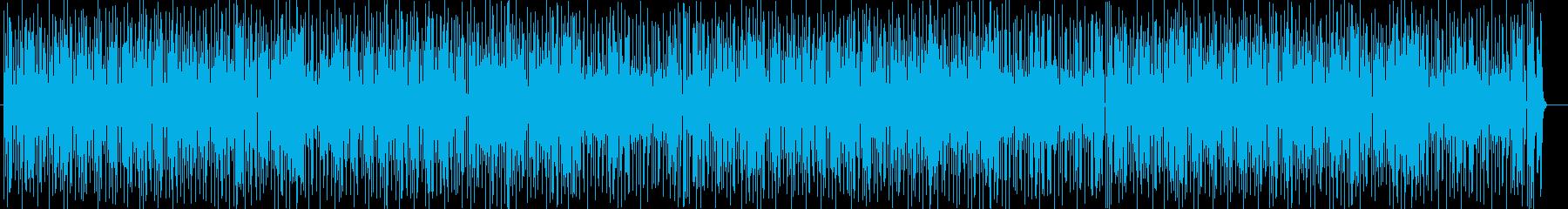 コミカルなシンセ・ゲーム音などのサウンドの再生済みの波形