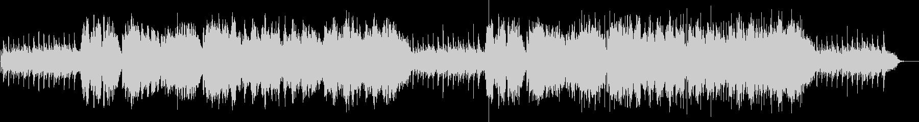 二胡生演奏の和風で穏やかなヒーリングの未再生の波形