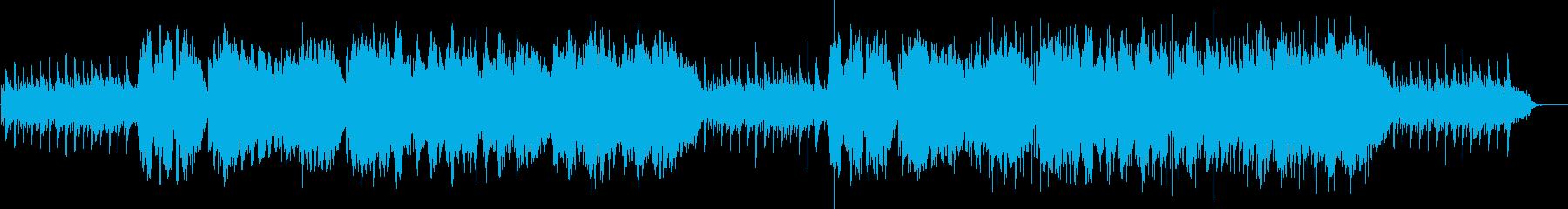 二胡生演奏の和風で穏やかなヒーリングの再生済みの波形