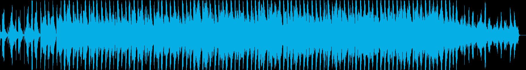 60秒 動画広告等 ポップなテックハウスの再生済みの波形