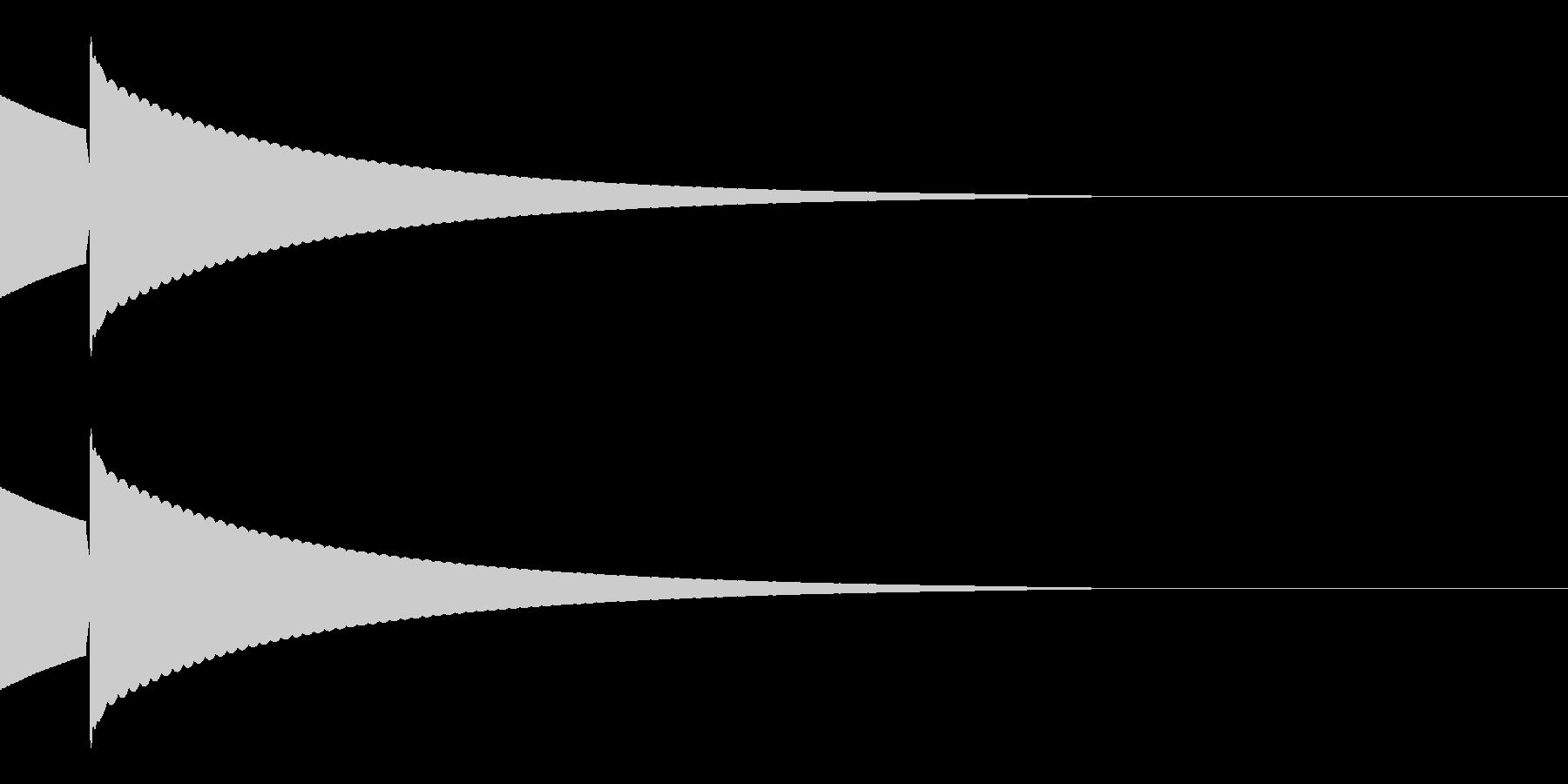 キラッ(星/コイン/アイテム)の未再生の波形