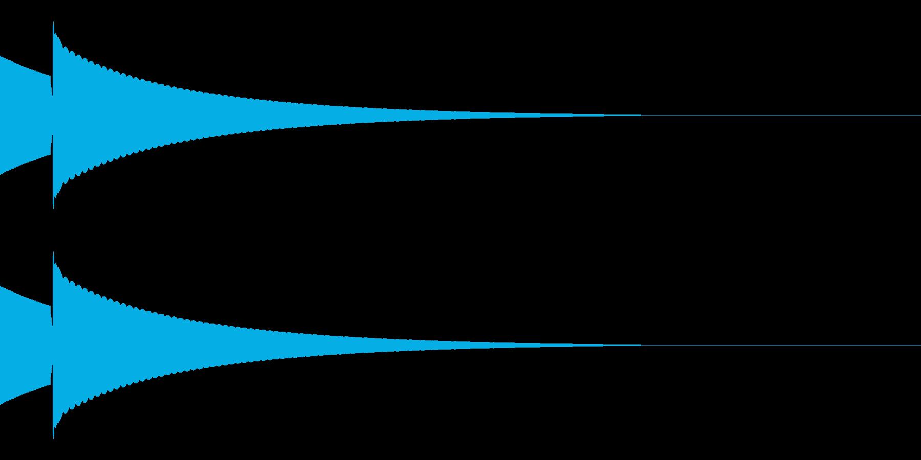 キラッ(星/コイン/アイテム)の再生済みの波形