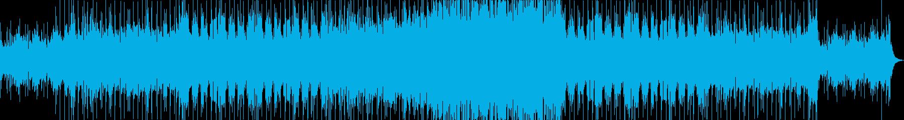 悲鳴を上げたいの再生済みの波形
