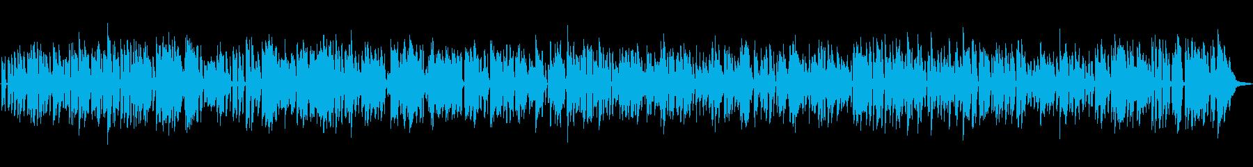 朝ドラで流れるレトロで古めかしいジャズの再生済みの波形