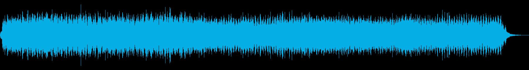 背景音 スリル 3の再生済みの波形