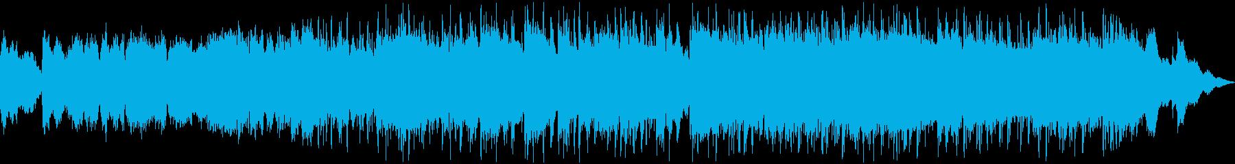 切ない雰囲気のR&Bの再生済みの波形