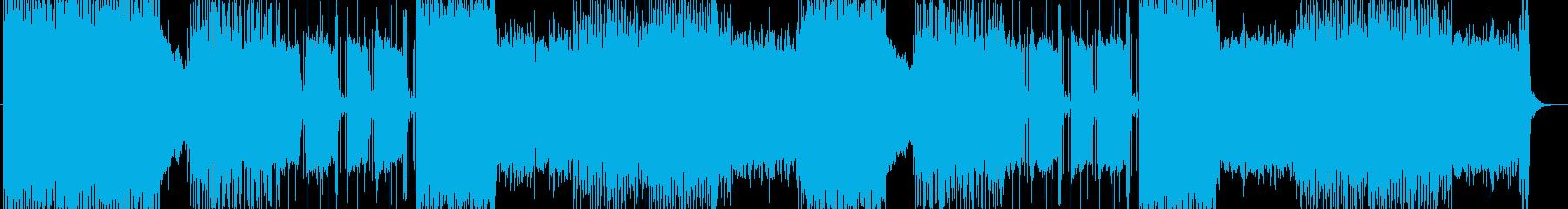 「HR/HM」「DEATH」BGM200の再生済みの波形