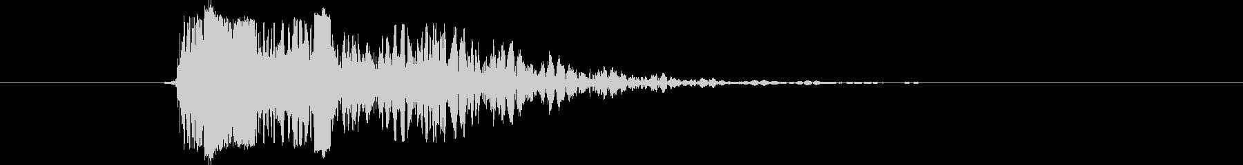 ライフル アサルトライフルファイア03の未再生の波形