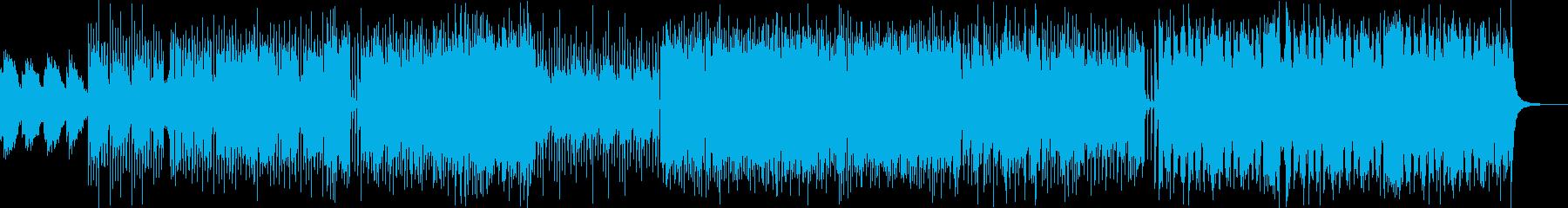 感情をイメージし展開のあるピアノインストの再生済みの波形