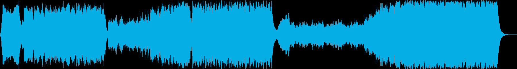 壮大なオーケストラバラードの再生済みの波形