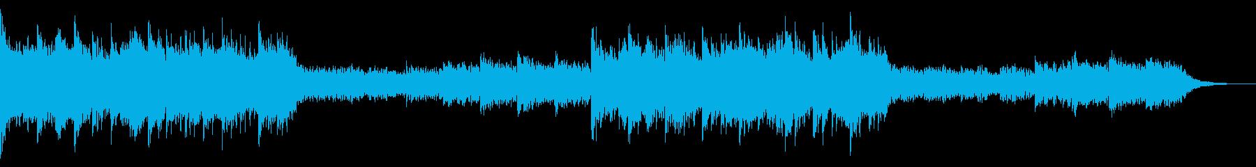 機械人形がなにかを決意し旅立つ音楽の再生済みの波形