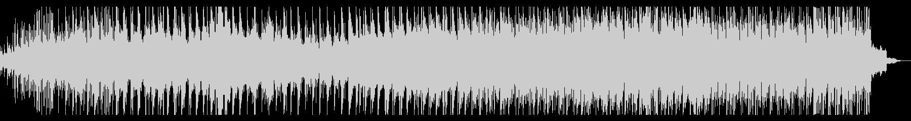 シンプルなシネマティックIDMの未再生の波形