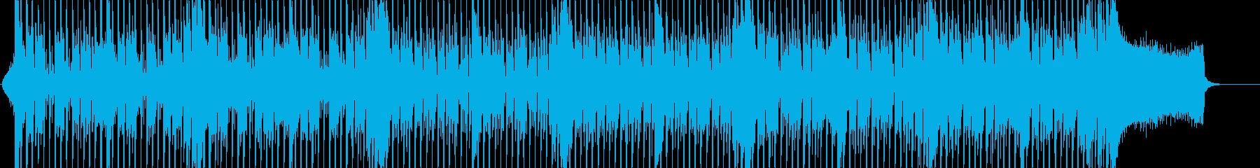 さわやかなエレクトロ四つ打ち。の再生済みの波形