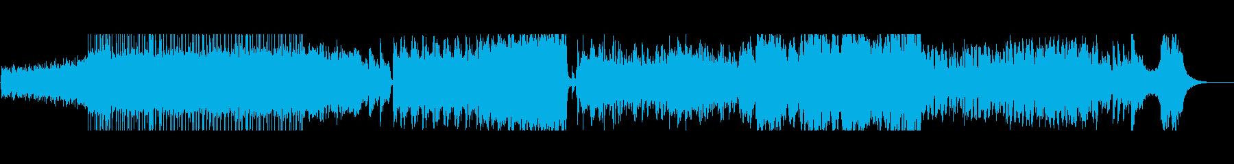 カオス・不安 十二音技法による混沌曲の再生済みの波形