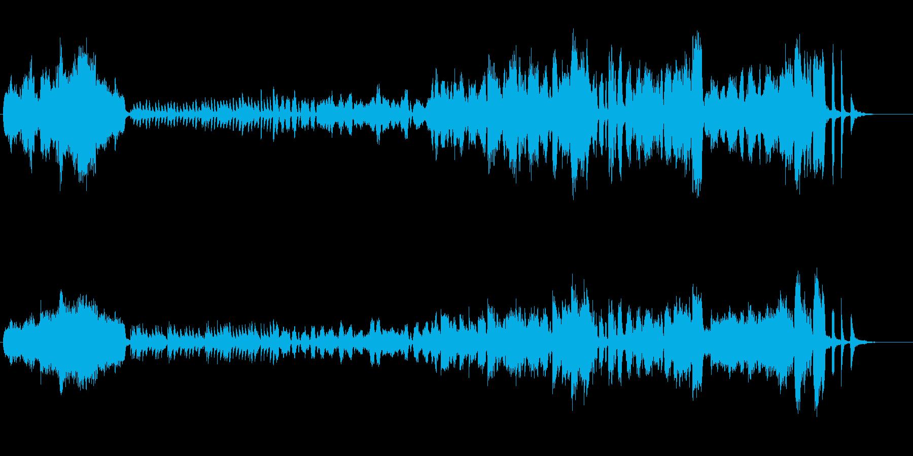 かわいくてメルヘンチックなワルツの再生済みの波形