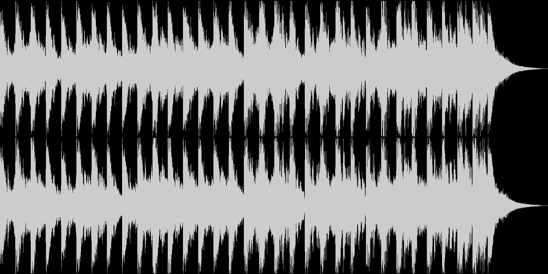 【ジングル】15秒のコミカルなジングルの未再生の波形