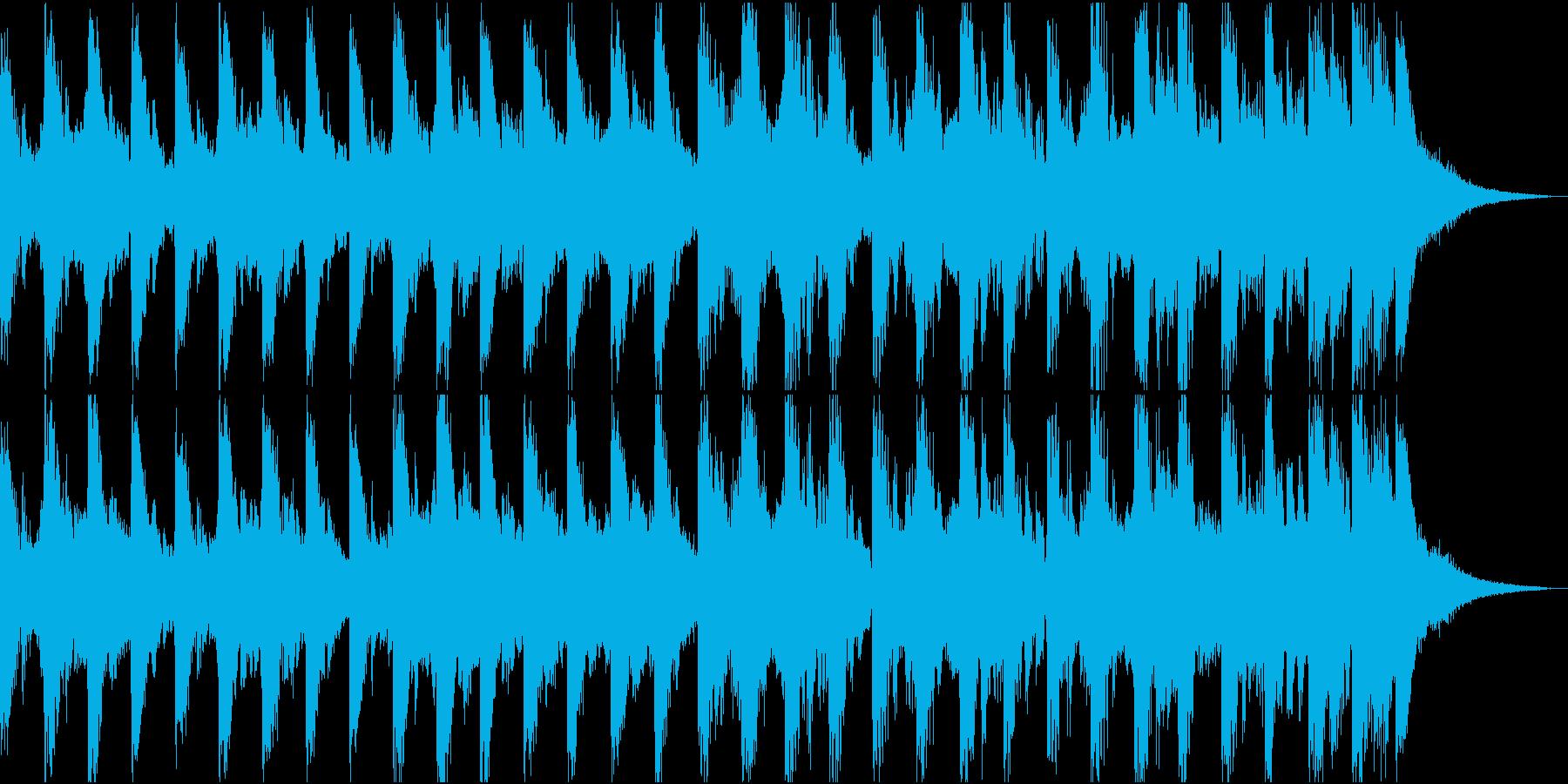 【ジングル】15秒のコミカルなジングルの再生済みの波形