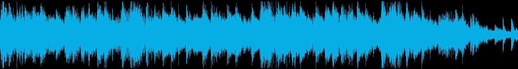 <ショートループ> ピアノ⑥+ビートCの再生済みの波形