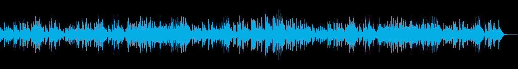 シューマン 子供の情景 Op.15-11の再生済みの波形