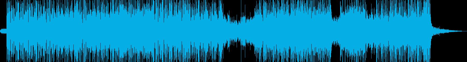 アジト・無機質アなグレッシブビート A3の再生済みの波形