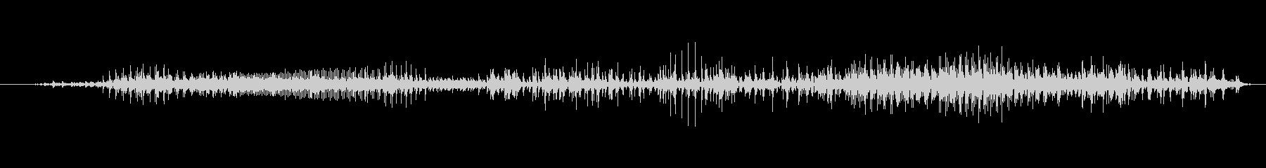 ゾンビ ヒューマンチェンジ01の未再生の波形