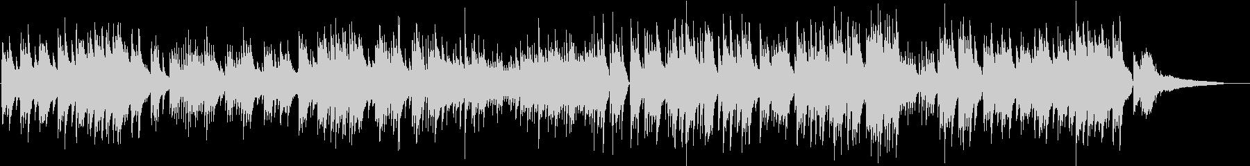 ジブリ風 琴線に触れるピアノバラードの未再生の波形
