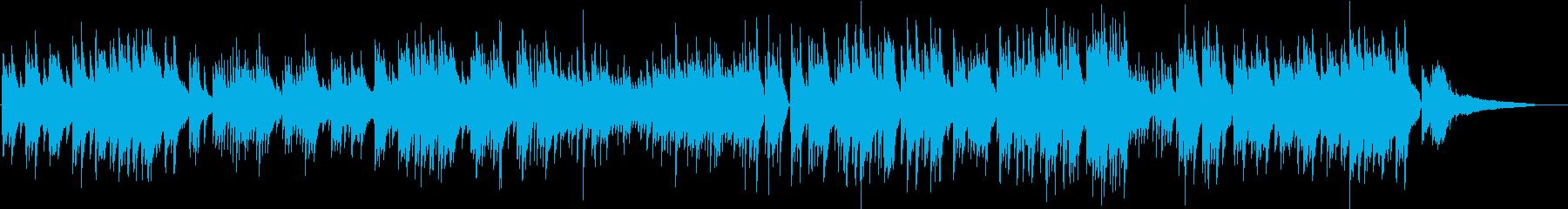 ジブリ風 琴線に触れるピアノバラードの再生済みの波形