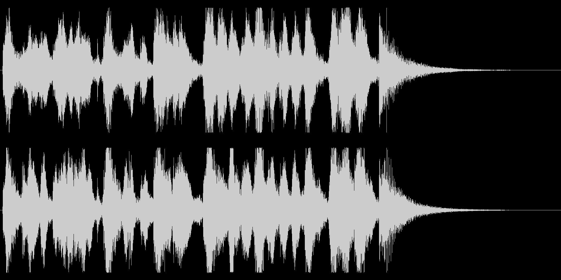【パーティー開幕1】の未再生の波形