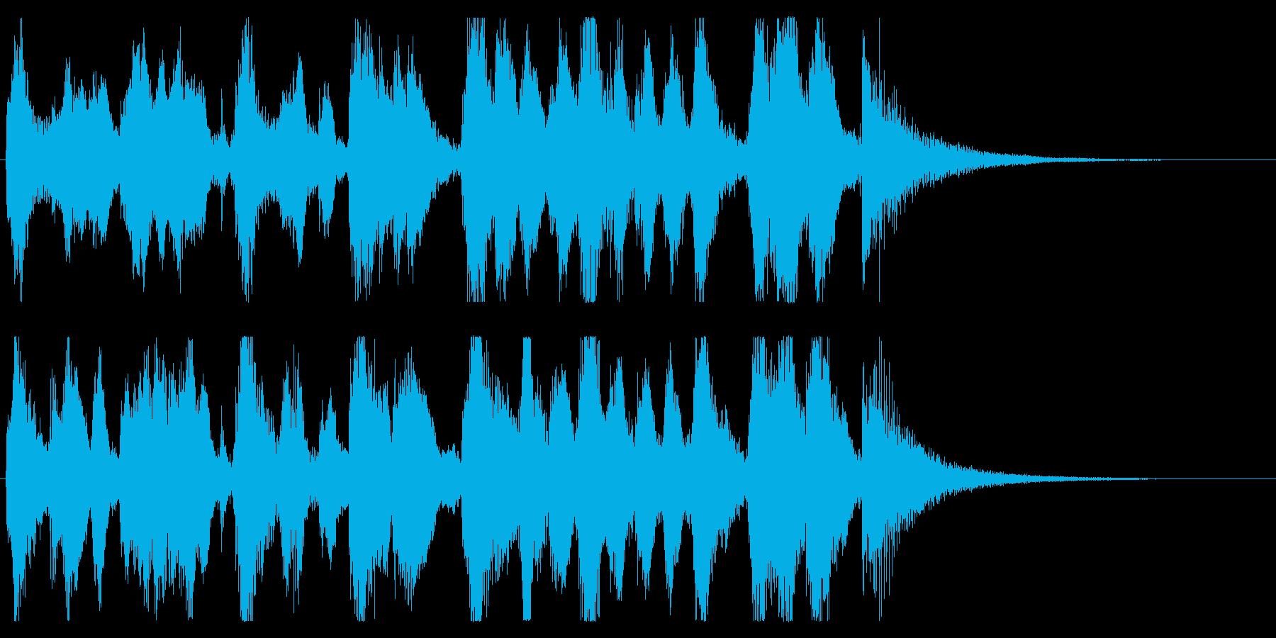 【パーティー開幕1】の再生済みの波形