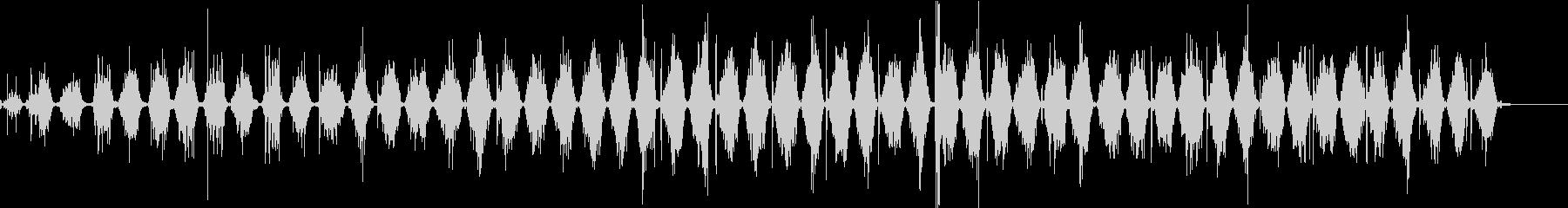 【生録音】ノコギリで物を切る音 4の未再生の波形