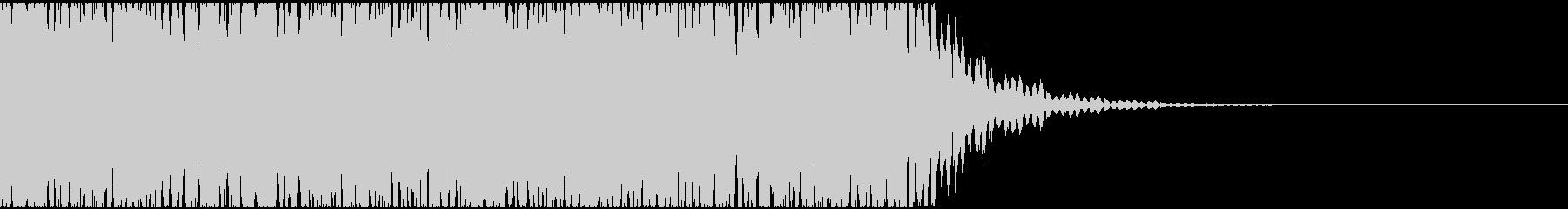 【エレクトロニカ】テクノ、ジングル5の未再生の波形