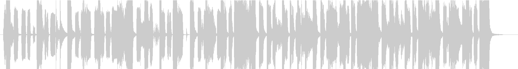 ピコピコ電子音・可愛いジングルの未再生の波形