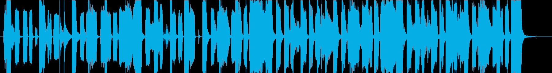 ピコピコ電子音・可愛いジングルの再生済みの波形